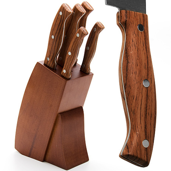 23619 Набор ножей 6пр клёпаные МВ (х8)
