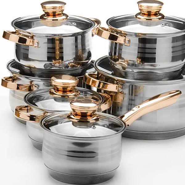 26036 Наб/посуды 12пр 2,1+2,1+2,9+2,9+3,9+6,6л.MB