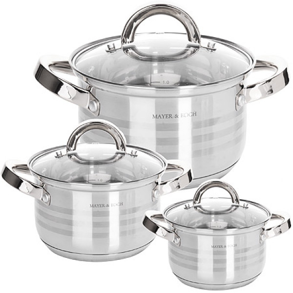 24042-1 Набор посуды 6пр 6,3+3,8+2,8л MB (х1)