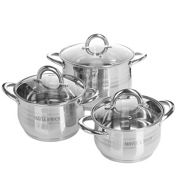 28763-2 Набор посуды 6пр 5,1+3,9+2,1л MAYER&BOCH