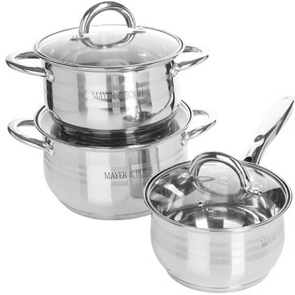 25156-1 Набор посуды 6пр 6,6+2,1+2,9л MAYER&BOCH