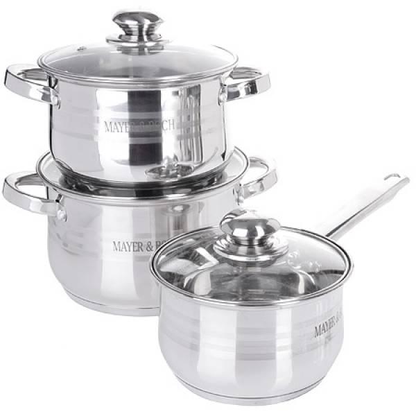 27290-2 Набор посуды 6пр 6,6+2,9+2,1л MAYER&BOCH