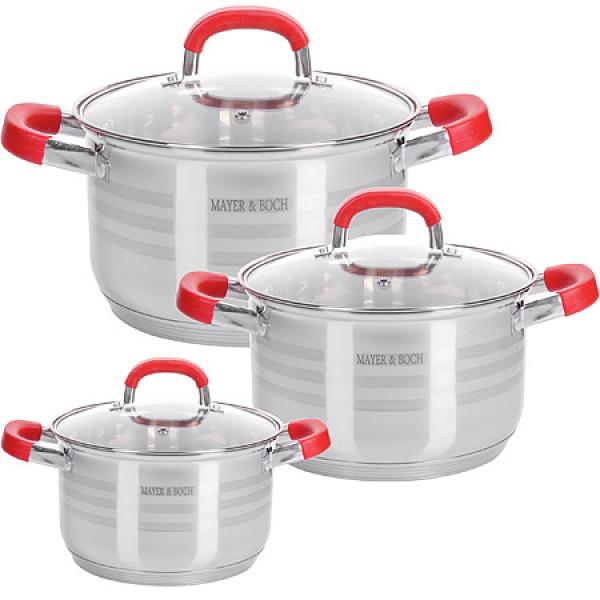 28817 Набор посуды 6пр 2+2,5+3,5 л MB (х4)