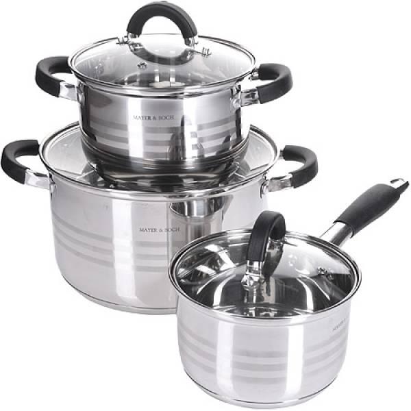 28765-1 Набор посуды 6пр 6,5+2,9+2,1л MAYER&BOCH