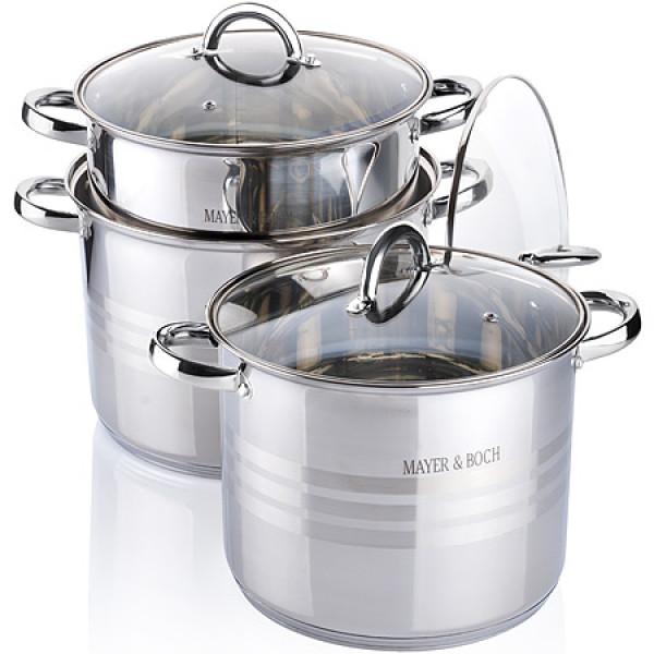 26700 Наб/посуды 6пр 8,6+10,6+12,9л с/кр MB (х2)