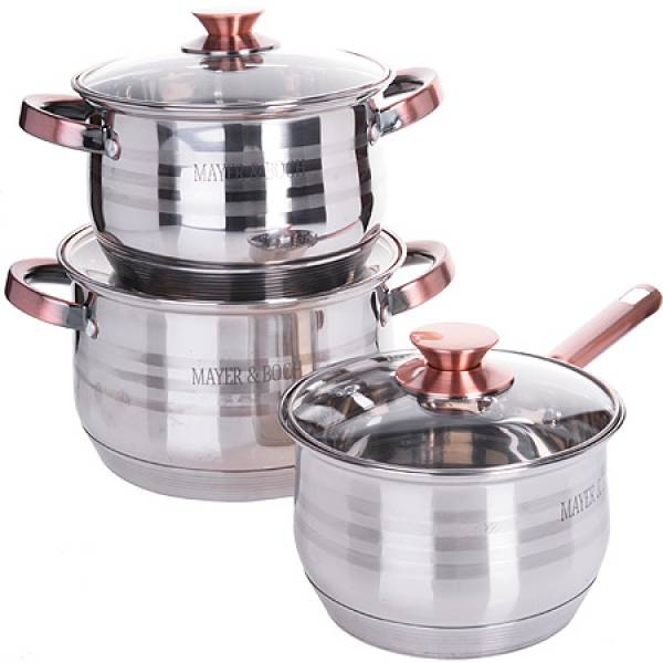 26042-1 Набор посуды 6пр 6,6+2,9+2,1л MAYER&BOCH