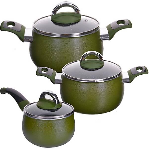 27791 Набор посуды 6пр 1,6+2,4+3,4 см MAYER&BOCH