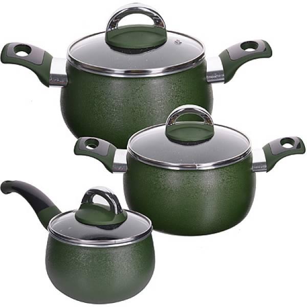 27790 Набор посуды 6пр 1,6+2,4+3,4 см MAYER&BOCH