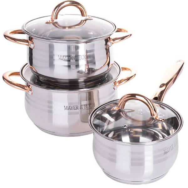 25157-2 Набор посуды 6пр 3,9+2,1+2,9л MAYER&BOCH