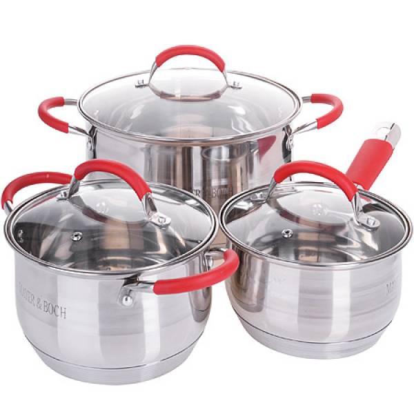 26038-1 Набор посуды 6пр 2,1+2,9+6,6л.MB