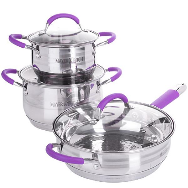 26037-2 Набор посуды 6пр 3,9+2,1+3,4л MB (х1)