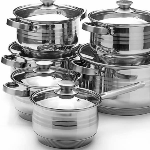 26044 Наб/посуды 12пр 2,1+2,1+2,9+2,9+6,6+8л.MB
