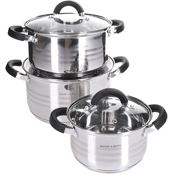 28765-2 Набор посуды 6пр 5,1+3,9+2,1л MAYER&BOCH
