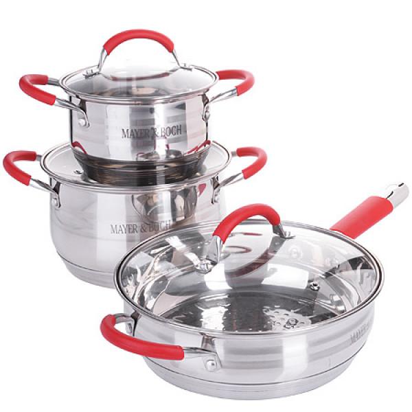 26038-2 Набор посуды 6пр 2,1+3,9+3,4л MB (х1)