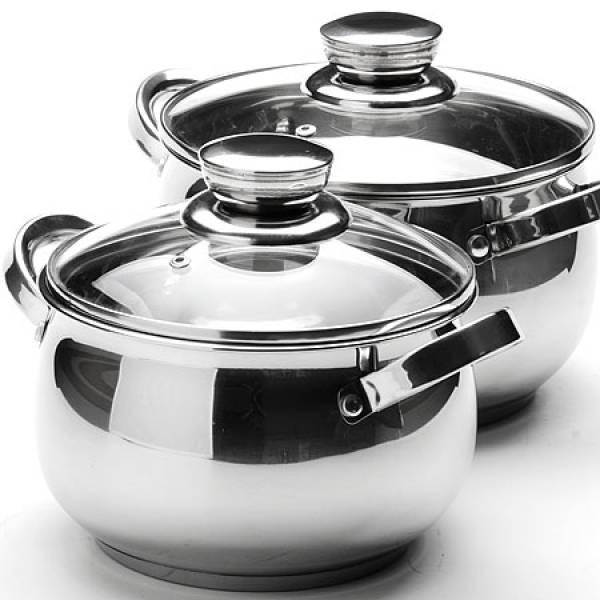 25153 Набор посуды 4пр 2,1+2,9л мет с/кр MAYER&BOCH