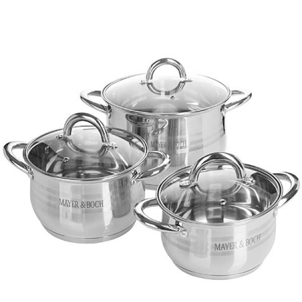 25155-2 Набор посуды 6пр 3,9+2,1+2,9л MB (х1)