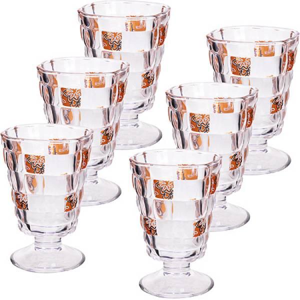 24687 Набор стаканов 6пр 220мл в под/упак LORAINE