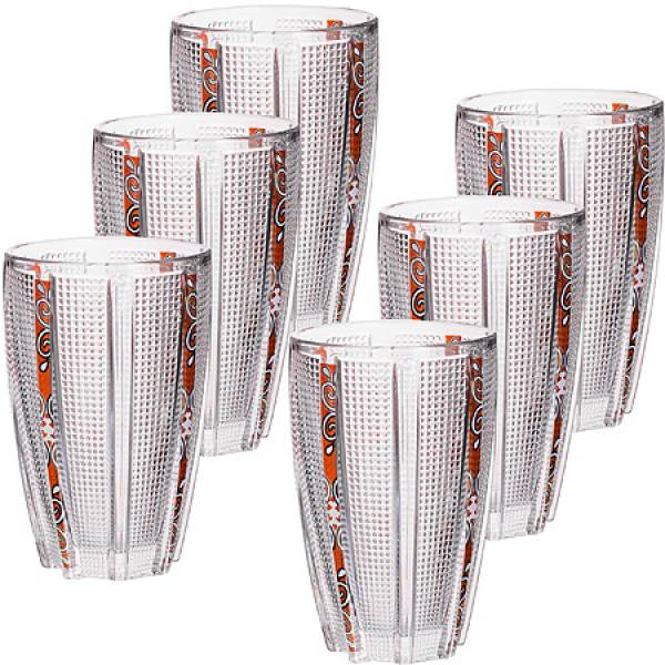 24689 Набор стаканов 6пр 300мл в под/упак LORAINE