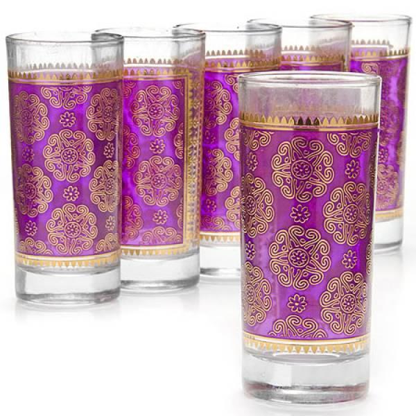25764 Набор стаканов 6пр 260мл стекло LORAINE
