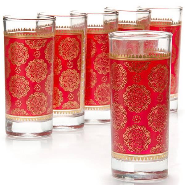 25761 Набор стаканов 6пр 260мл стекло LR (х6)