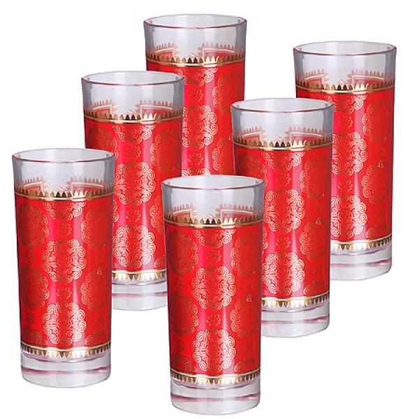 25761 Набор стаканов 6пр 260мл стекло LORAINE