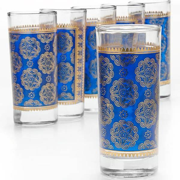 25762 Набор стаканов 6пр 260мл стекло LORAINE
