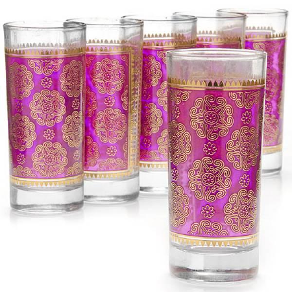 25763 Набор стаканов 6пр 260мл стекло LORAINE