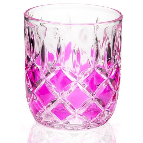 20221-1 Набор стаканов 6 предметов РОЗОВЫЙ LORAINE
