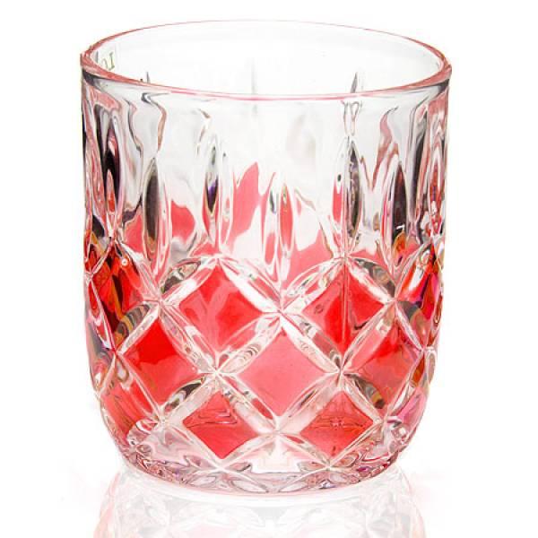 20221-3 Набор стаканов 6 предметов КРАСНЫЙ LORAINE