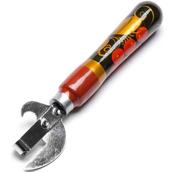 71002 Нож консервный Хохлома (х250)
