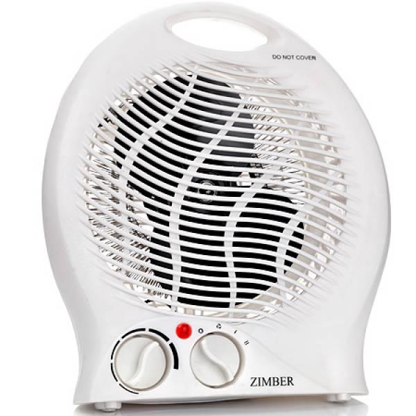 11198 Тепловентилятор 2000Вт 2 режима тепл ZIMBER