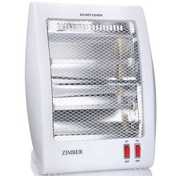 11204 Кварц обог 800Вт 2 режима тепла ZIMBER