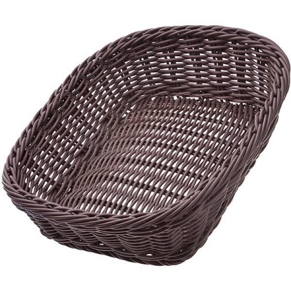 28251 Корзина плетёная пластик 26,5х19см MAYER&BOCH