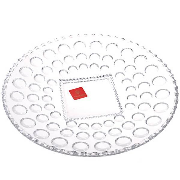 808 Блюдо круглое 28 см.стекло
