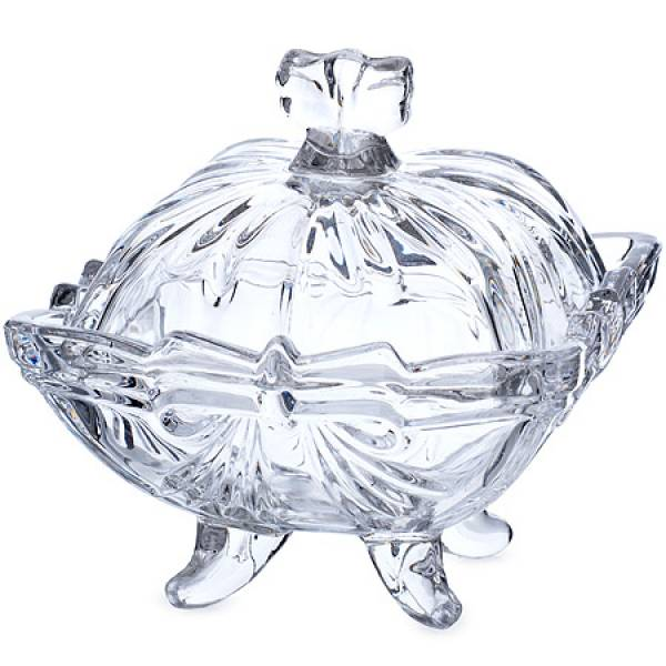 588-055 Сахарница 10см.стекло