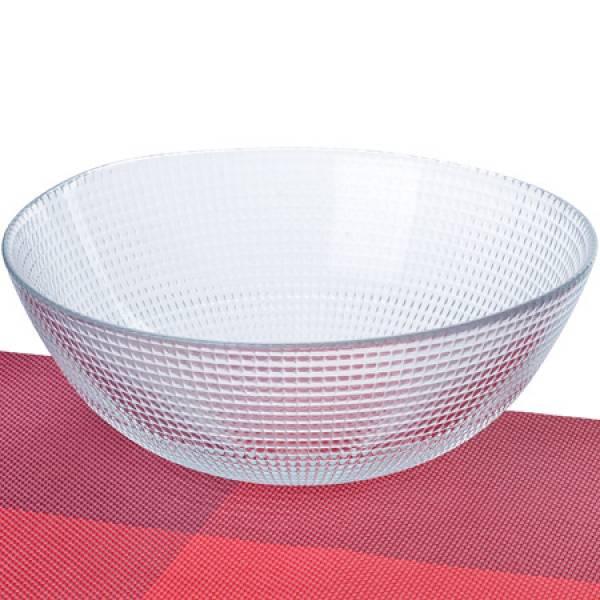 1083 Салатница стеклянная 23 х 8,5 см