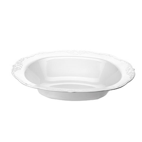 14133 Блюдо маленькое Винтаж белая 6шт МВ (х24)