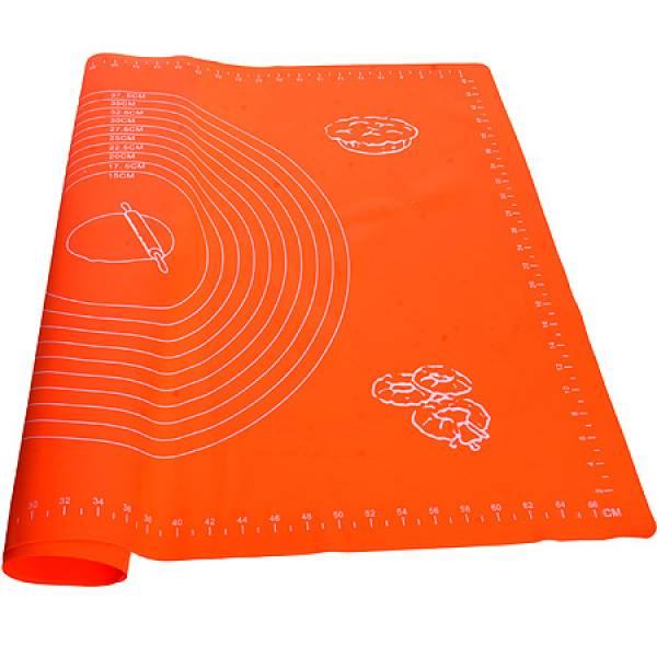 29420-4 Коврик силиконовый 70х50см оранжевый MAYER&BOCH