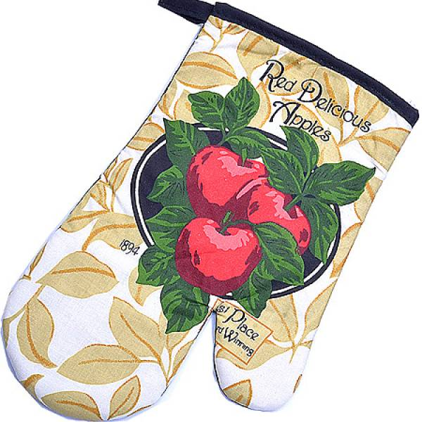 136-003 Набор перчатка+прихватка+полотенце