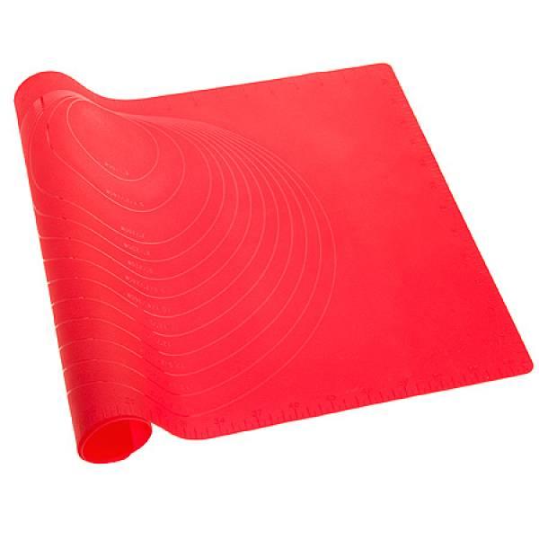 29437 Коврик силикон красный 60 х40 см МВ