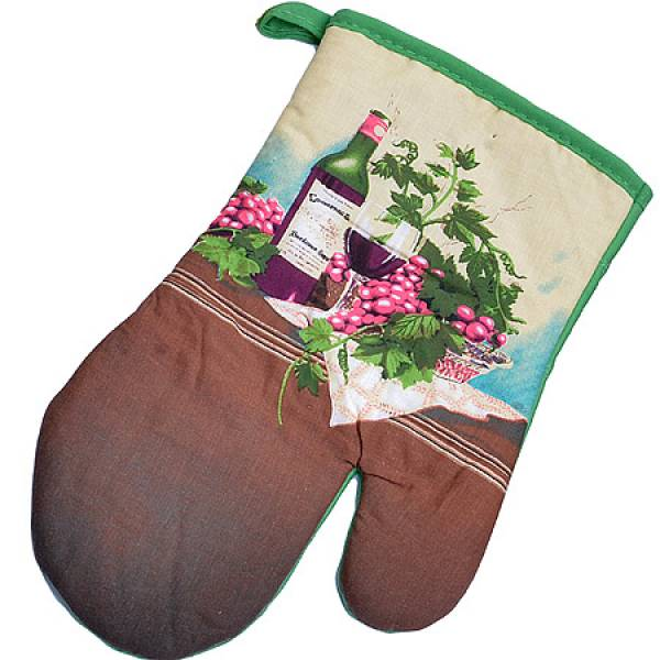 136-005 Набор перчатка+прихватка+полотенце