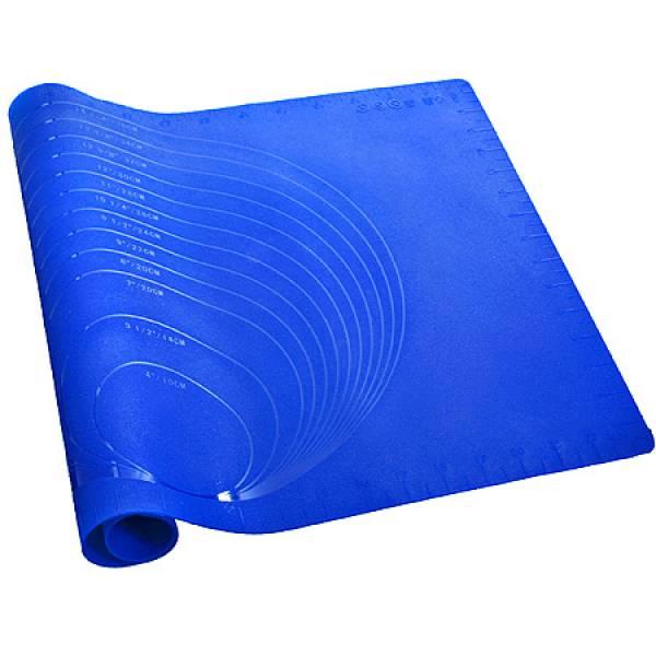 29437-1 Коврик силикон синий 60 х40 см МВ
