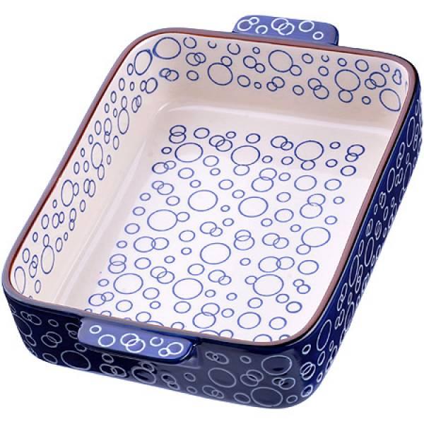 27894 Форма для запекания 1,7л.керамика.LR 28,5х18,5х6см