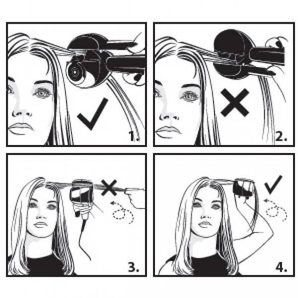 10873 Щипцы для волос 240Вт алюм. ZIMBER