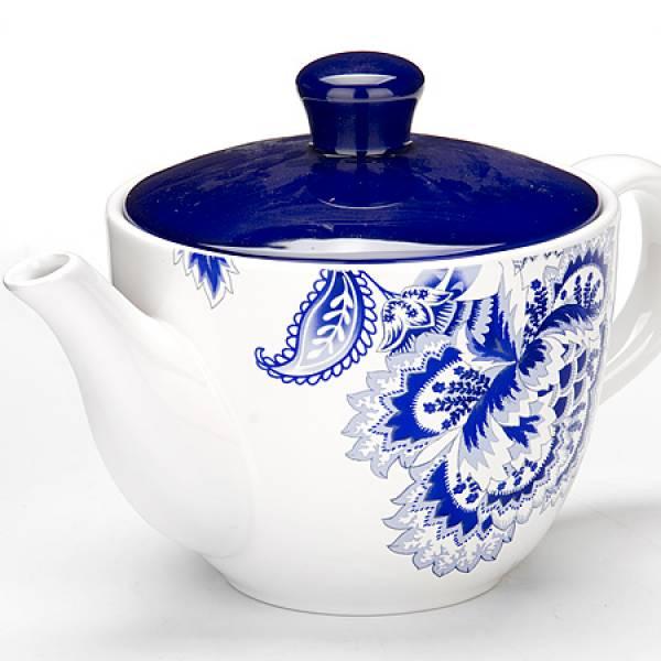 24824 Заварочный чайник 900мл с/кр керам LORAINE