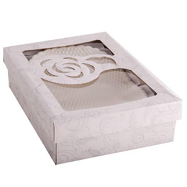 110-249 Блюдо овальное керамика ГОФРЕ