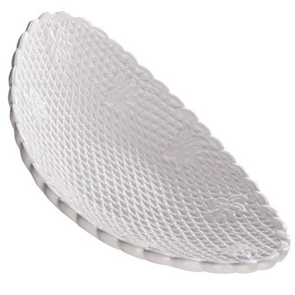 110-248 Блюдо овальное керамика ГОФРЕ