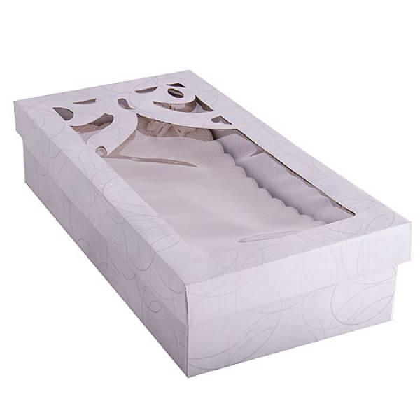 110-228 Блюдо прямоугольное керамика 32см