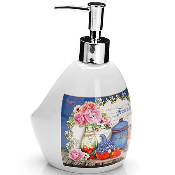 26401 Дозатор для мыла 400мл Натюрморт LORAINE