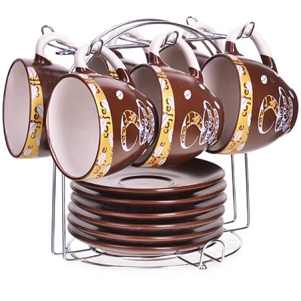 23541 Набор чайный 13пр на подставке LORAINE